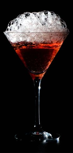Cranberry Bubbles Cosmo - easy to make and delightful to serve!!!