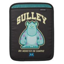 Sulley Big Monster on Campus ipad sleeves