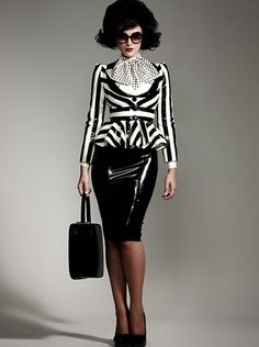 Latex Fashion LOVE the jacket!
