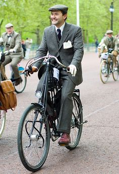 London Tweed Run! Pedersen!