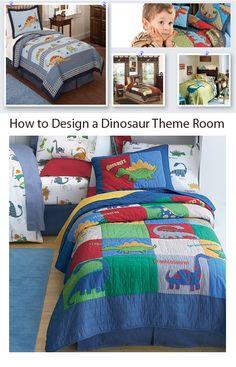 Boys Bedroom Design Idea: Article on How to Design a Dinosaur Theme Room