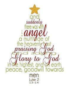 Christmas Glory to God