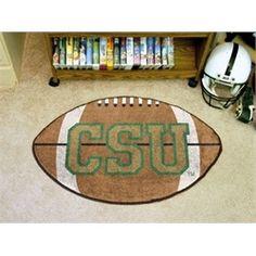 Colorado State Rams Football Floor Rug Mat