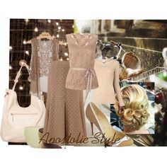 Staying Neutral Apostolic Style, created by emmyholloway on Polyvore