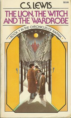 The Lion Witch and the Wardrobe -  Book 1 in The Chronicles of Narnia - C.S.Lewis - cover by Roger Hane by Cadwalader Ringgold, via Flickr