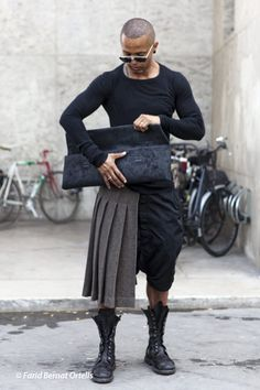 I'm in absolute love with this look.   #rickowens
