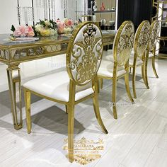 Banquet Party Used Velvet Seat Stainless Steel Frame Latest Bridal Wedding Chair - Buy Velvet Chairs Wedding,Bridal Chair Wedding Latest,Stainless Wedding Chairs Product on Alibaba.com Wedding Furniture, Wedding Chairs, Metal Furniture, Metal Chairs, Leather Chairs, Stainless Steel Table, Luxury Dining Room, Buy Chair, Commercial Furniture