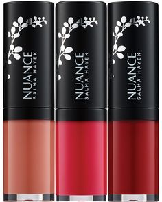 The 25 Best Drugstore Beauty Buys of 2016 - High shine without stickiness, plumping without tingling and full-coverage bold color. Nuance Salma Hayek True Color Plumping Liquid Lipstick in Nude Nectar, Liquid Lily and Ripe Cherry, $10 each, cvs.com.