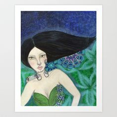 Be Wild Art Print by Art by Elle - $19.00