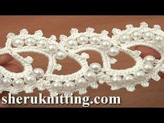 In this crochet video you can find beautiful beaded crochet lace tape, free crochet belt pattern, free crochet lace pattern, crochet beaded lace, crochet lac. Crochet Belt, Crochet Bracelet, Freeform Crochet, Thread Crochet, Irish Crochet, Crochet Motif, Crochet Designs, Crochet Flowers, Knit Crochet