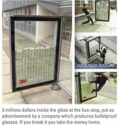 What if someone just broke the stand and took the money ?