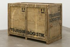 Image result for old museum packing crate