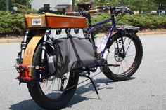 Long Tail Cargo Bikes | Longtail Fat Cargo Bike