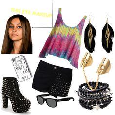 Dress rocker chic style