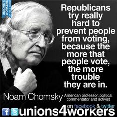 Truth be told...   It's tough when you only represent the top 1% of the population, and most people vote democrat...