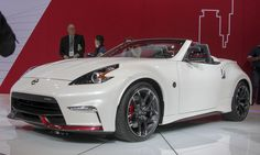 Best Concept Cars of 2015- Nissan Nismo 370Z roadster concept, yeah I'd drive that