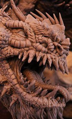 Bull Dragon Wyrm Sculpt Close by AntWatkins on DeviantArt