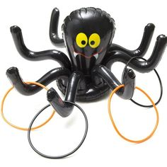 Ring Toss Games For Kids Adults Inflatable Spider Indoor Halloween Games Parties Product Description: Spook Up Some Fun with Halloween Party Games ! Entertain your Halloween guests with something diff