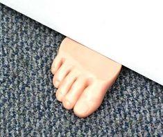 Foot Shaped Door Stopper | $16.99