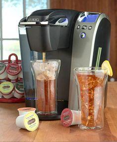 Keurig® makes awesome iced tea and coffee!