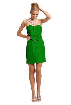 Kelly Green Bridesmaid Dress by @Kirribilla featured on @Brides