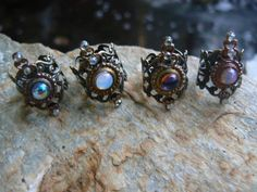 opal of course! _____________________________ knuckle ring CHOOSE ONE armor ring midi ring by gildedingypsy