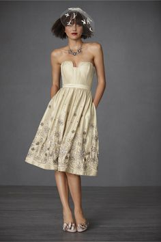 Many Styles of BHLDN Dresses and Shoes
