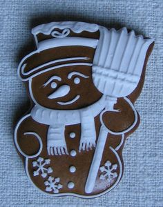 Christmas Gingerbread Men, Gingerbread Cookies, Gingerbread House Designs, Christmas Sugar Cookies, Food Decoration, Christmas Goodies, Royal Icing, Cake Cookies, Cookie Decorating