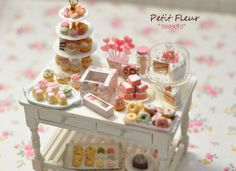 sweet and dessert table