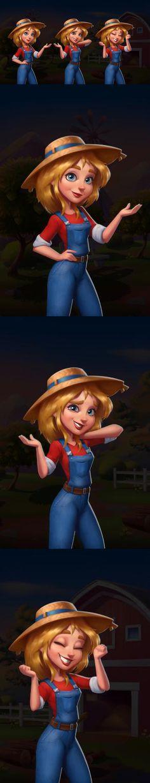Game Character Design, Character Design Animation, 3d Character, Character Concept, Game Design, Casual Art, Game Ui, 2d Art, Cartoon Styles