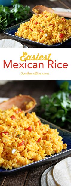 You won't find an easier way to make delicious Mexican Rice! Side Dish Recipes, New Recipes, Dinner Recipes, Cooking Recipes, Favorite Recipes, Easy Recipes, Aloo Recipes, Milk Recipes, Copycat Recipes