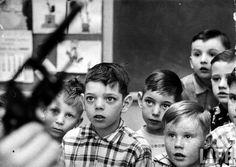 Gun Safety Class at an Indiana School, 1956