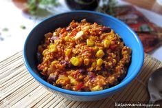 Kaszomania - pomysły na dania z kaszy jaglanej: Kasza jaglana po meksykańsku
