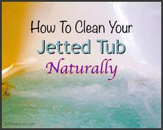 The absolute best way on How to Clean a Jetted Tub. This process makes cleaning your Jetted Tub a breeze and gets is sparkling clean.
