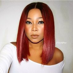 This color is GORG @chrissybales  Bob life✂️ #voiceofhair========================== Go to VoiceOfHair.com ========================= Find hairstyles and hair tips! =========================