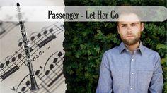 Partitura Passenger - Let Her Go Clarinete Soprano