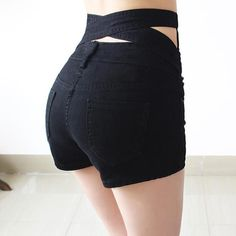 Slim Sexy Denim Shorts