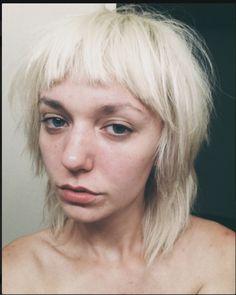 messy/choppy hair with micro bangs <3 Tumblr: gutterpuke
