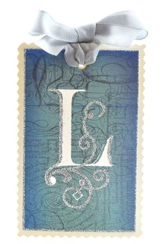 L is for Liz Monogram Letters, Love Letters, Atc Cards, Glitter Gifts, Calligraphy Letters, Thing 1, Recycled Art, Illuminated Manuscript, Greeting Cards Handmade