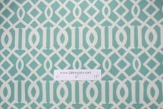 Richloom / John Wolf Kirkwood Printed Polyester Outdoor Fabric in Pool $8.95 per yard