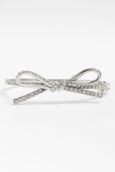 kate spade new york | 'skinny mini' bow bangle | Nordstrom Rack