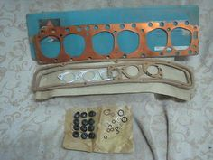 Nos #payen ford #6cylinder #zephyr & zodiac mk2 mk3 1956-66 head gasket set # ce8,  View more on the LINK: 	http://www.zeppy.io/product/gb/2/252435783562/
