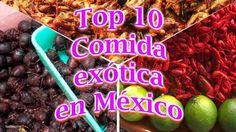 Top 10 Comida exótica en México