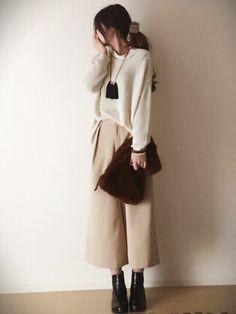 """【ボトムス別】優秀アイテム""""GUのサイドゴアブーツ""""コーデまとめ!新作もチェック Asian Fashion, Fashion Pants, Fall Outfits, Style Me, Normcore, Lady, Boots, Womens Fashion, How To Wear"""