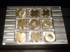 cnc milling projects game board - Google Search