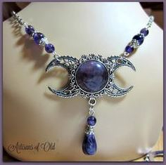 Hair & Head Jewelry Jewelry & Watches Amethyst Triple Moon Barrette Goddess Wiccan Pagan Wicca Witch Witchcraft Keep You Fit All The Time