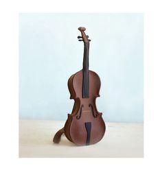 Brown Felt Violin Bag $160 krukrustudio.etsy
