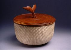 Re-thinking the iconic Nantucket whaling basket. Dennis Chilcote