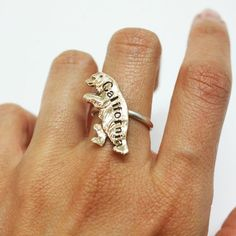 California Bear Ring <3