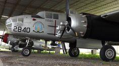 Bombardero  North American B-25 Mitchell de la FAV